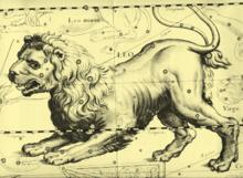 Ludzie widzieli wzory w gwiazdach od dawien dawna. Ten, z 1690 roku, to gwiazdozbiór Lwa, wyobrażony przez Johannesa Heweliusza.