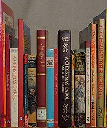 Er zijn vele edities van A Christmas Carol verschenen. Hier zijn er maar een paar van.