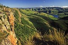 Góry Drakensberg, najwyższe pasmo górskie w Republice Południowej Afryki