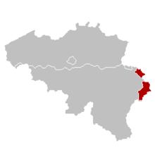 Zonele de limbă germană din Belgia