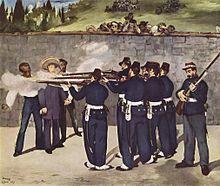 Die Hinrichtung von Kaiser Maximilan von Mexiko ist ein Gemälde von Edouard Manet. Es zeigt ein Erschießungskommando.