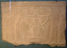 Ägyptische Szene, die die Zubereitung von Lilienparfüm darstellt