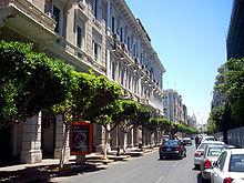 Budynki w stylu włoskim w Trypolisie