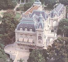 Palácio Laranjeiras, sídlo guvernéra Ria de Janeira