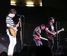 Fall Out Boy sul palco.