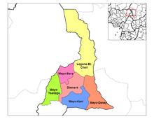 Departamentos do Extremo Norte dos Camarões