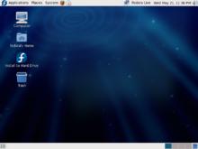 Fedora, een Linux-distributie