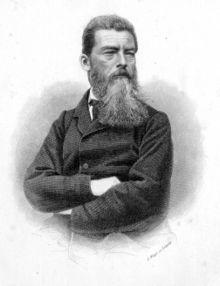 Ludwig Feuerbach (1804-1872) ontwikkelde een godsdienstfilosofie die beïnvloed was door naturalistische ideeën.