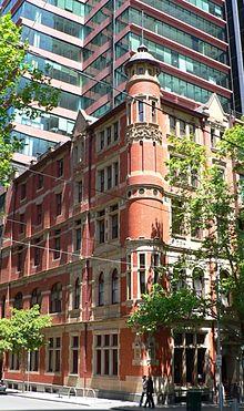 Het Gollin and Company gebouw in Melbourne, opgenomen in het Victorian Heritage Register
