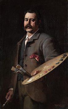 Autorretrato (1886)