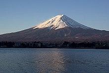 Il monte Fuji, uno stratovulcano attivo in Giappone, eruttato per l'ultima volta nel 1707-08