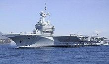 Nucleair vliegdekschip Charles de Gaulle