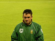 Graeme Smith, były kapitan narodowej drużyny krykietowej RPA.