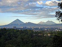 Gwatemala City jest największym miastem w Ameryce Środkowej.