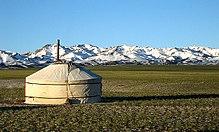 Un ger mongol