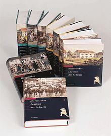 Les trois premiers volumes imprimés, en allemand, français et italien.