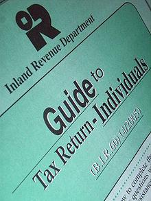 Ein Steuerformular