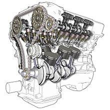 Een V6-motor