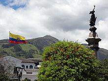 Onafhankelijkheidsplein, historisch centrum van Quito