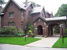 Rezidence guvernéra státu Indiana