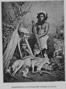 Inheemse Australiërs bij Stratford, Victoria, 1901