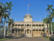 Havajské ostrovy: palác Jolani