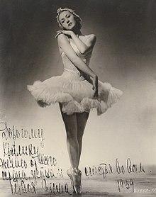 Ballerina Irina Baranova
