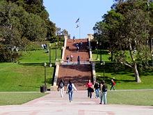 ヤンスーステップス、UCLA、ロサンゼルス。