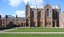 De college kapel, Keble College, Universiteit van Oxford