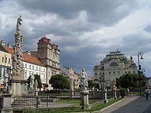 Hlavná ulica (Hauptstraße) in Košice
