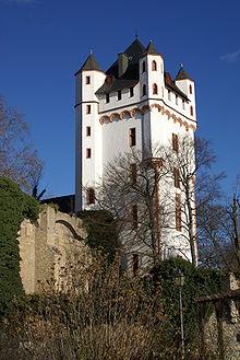Maison tour du château d'Eltville, 14e siècle