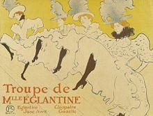 Een poster uit 1895