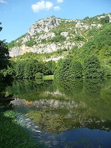 Le Célé in Marcilhac-sur-Célé