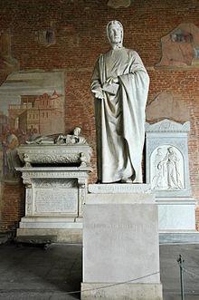 Fibonacci-Statuen von Giovanni Paganucci auf dem Friedhof von Pisa, 1863