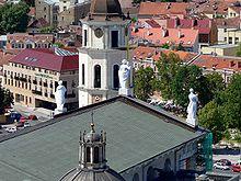 Blick über das Dach der Kathedrale