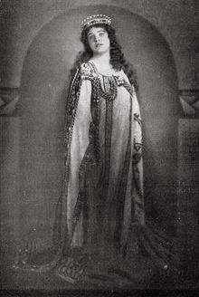 Lotte Lehmann als Elisabeth