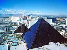 Hotel Luxor in Las Vegas, Nevada