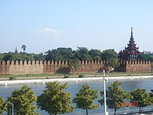 Het Mandalay Palace.