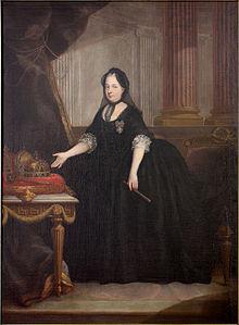Maria Theresa van Oostenrijk in 1772.