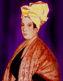 Marie LaVeau, amerykańska kapłanka Voodoo z XIX wieku.