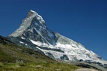 Matterhorn in de Zwitserse Alpen