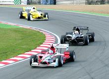 Mexico, Nieuw-Zeeland en Maleisië tijdens het allereerste raceweekend van de 2005-06 A1 Grand Prix of Nations, Groot-Brittannië