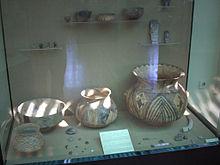 Relativ schlichtes Steingut für den täglichen Gebrauch: Keramikfunde in Çatal Höyük - sechstes Jahrtausend v. Chr.