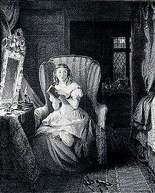 Catherine, gelooft dat de enge romans die ze leest waar zijn