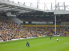 Aviva Community Stand afgebeeld in 2007 met het merk Norwich Union