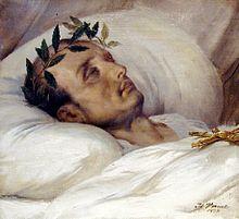 Смерть Наполеона на острове Св. Елены.