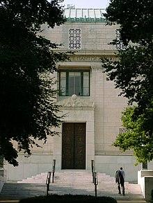 Gebouw van de Nationale Academie van Wetenschappen van de Verenigde Staten, in Washington, D.C.