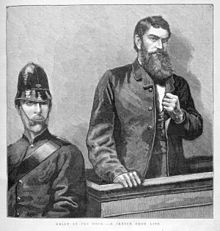 Ned Kelly in de rechtbank