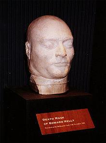 Ned Kelly's dodenmasker