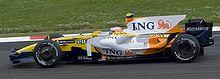Piquet scoorde de eerste punten van zijn F1-carrière tijdens de Franse Grand Prix van 2008.